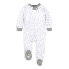 Baby Honey Bee Organic Cotton Loose Fit Footed Pajamas