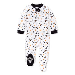Mix of Magic Organic Baby Loose Fit Footed Halloween