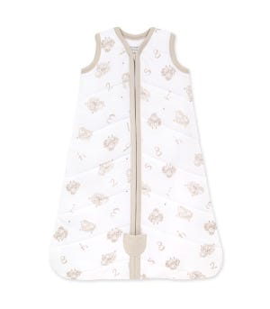 Beekeeper™ Counting Sheep Quilted Organic Baby Wearable Blanket