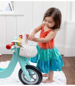 Dip Dye Organic Baby Dress & Diaper Cover Set
