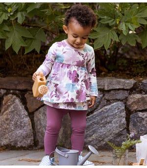 Museum Floral Organic Baby Tunic & Legging Set