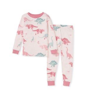 Jurassic Territory Organic Baby Snug Fit Pajamas