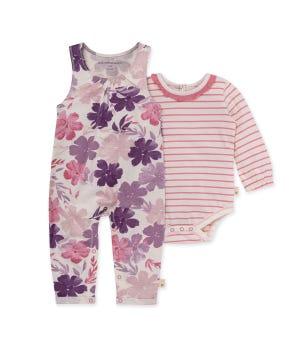 Museum Garden Organic Baby Jumpsuit & Bodysuit Set