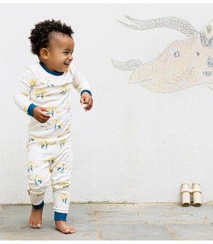 Woolly Awesome Organic Toddler Snug Fit Pajamas