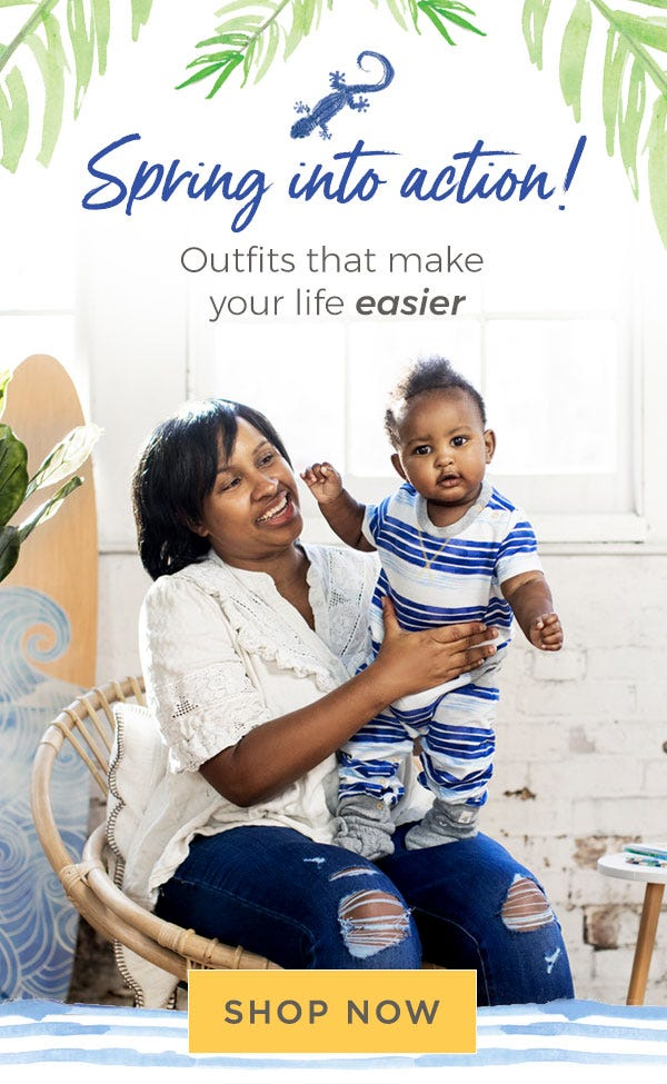 Spring into action! Outfits that make your life easier! shop now