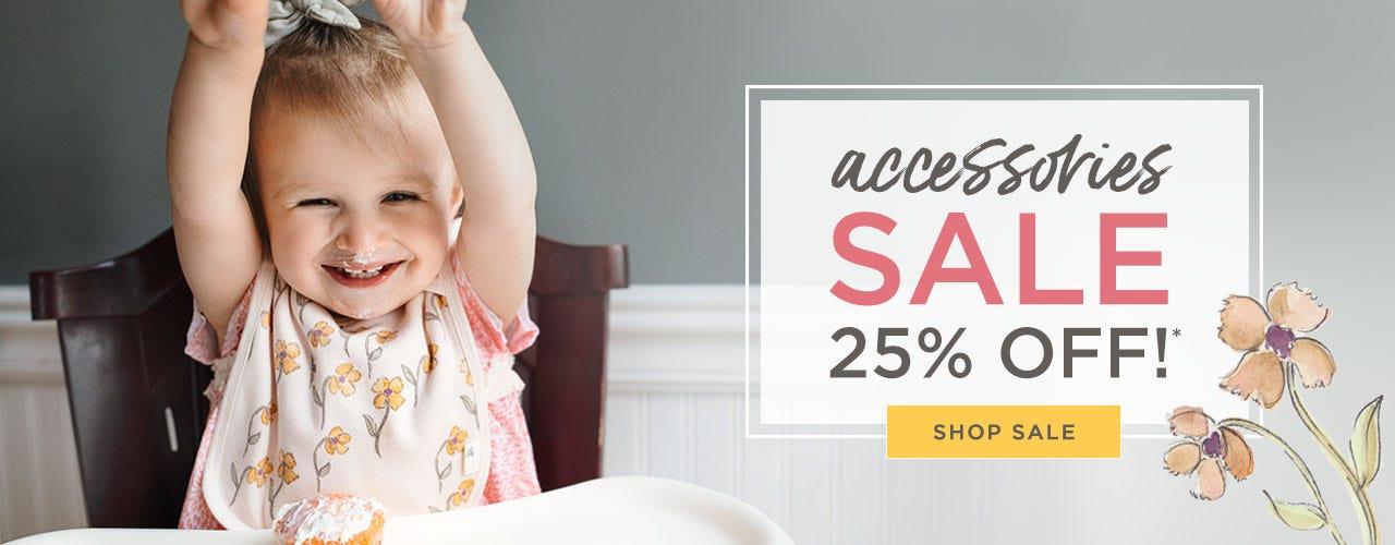 Accessories SALE 25% off! Shop Accessories now!