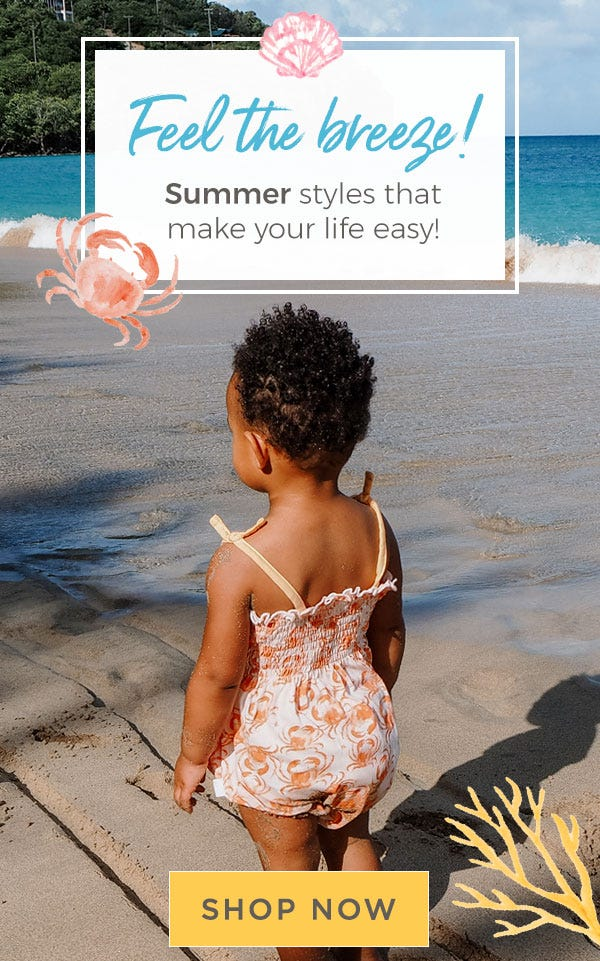 Burt's Bees Baby: Feel the breeze! Summer styles that make your life easy! Shop now