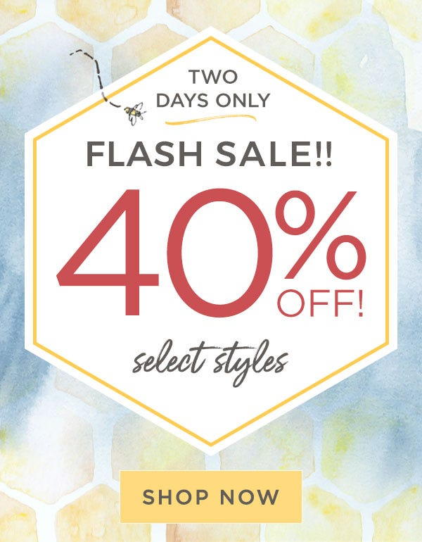 Burt's Bees Baby: Two days only! flash sale 40% off select styles! Shop now!!