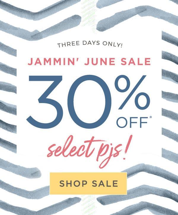 Burt's Bees Baby: Jammin' June sale! 30% off select pjs! Shop sale