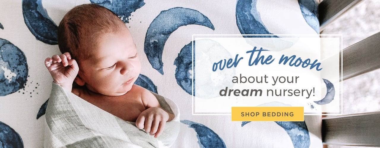 over the moon about your dream nursery