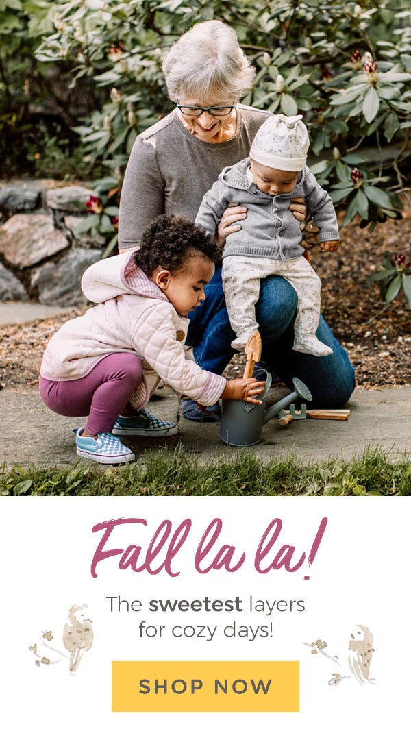 Burt's Bees Baby: Fall la la! The sweetest layers for fall activities! Shop Fall now