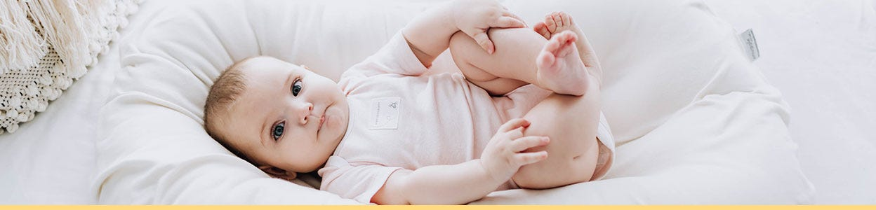 Burt's Bees Baby bodysuits - Organic bodysuits, onesie, coveralls. Available for boys and girls and neutral colors from newborn to 24 months.